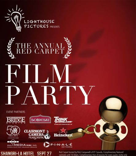 The Promotion People - Film Party