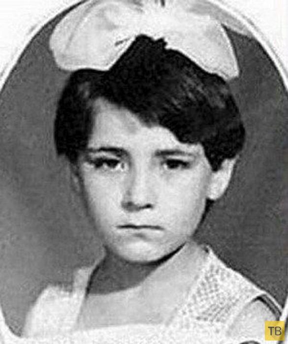 Российские знаменитости в детстве (12 фото)