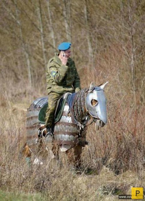Из жизни российской армии (11 фото)