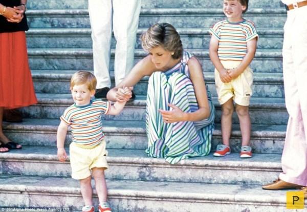Принц Гарри в детстве 16 фото