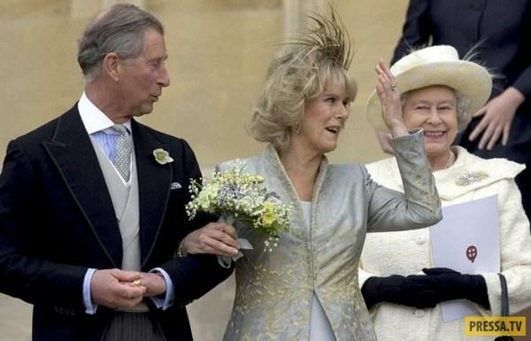Затяжной роман принца Чарльза и Камиллы Паркер-Боулз (11 фото)