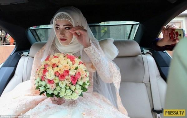 Традиции чеченской свадьбы (34 фото)