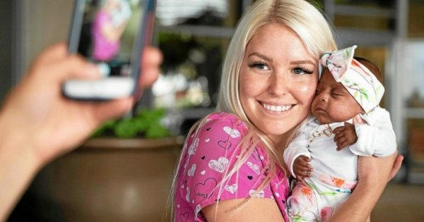 Сэйби - самый маленький выживший ребенок в мире
