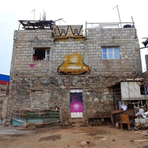 Граффити-художник превращает южноафриканские города в ...