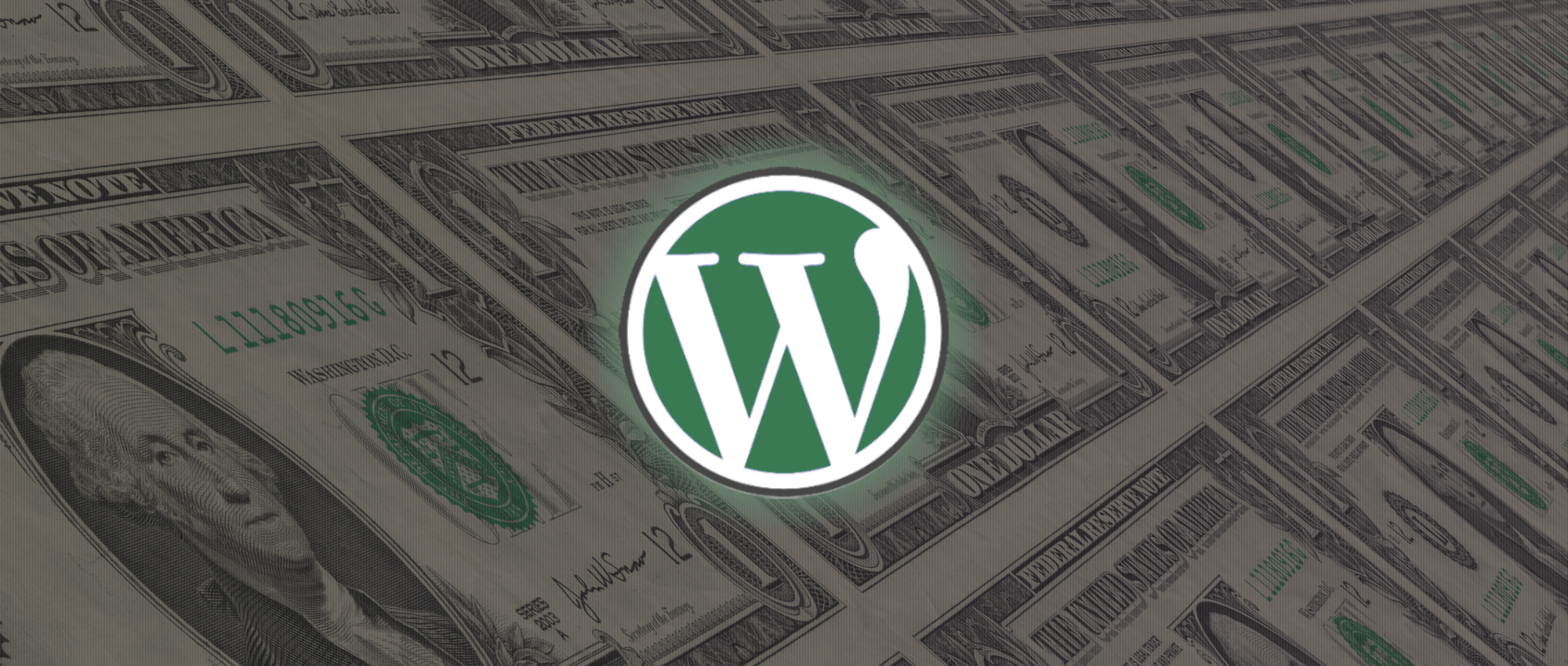 An abstract representation of making money with WordPress.