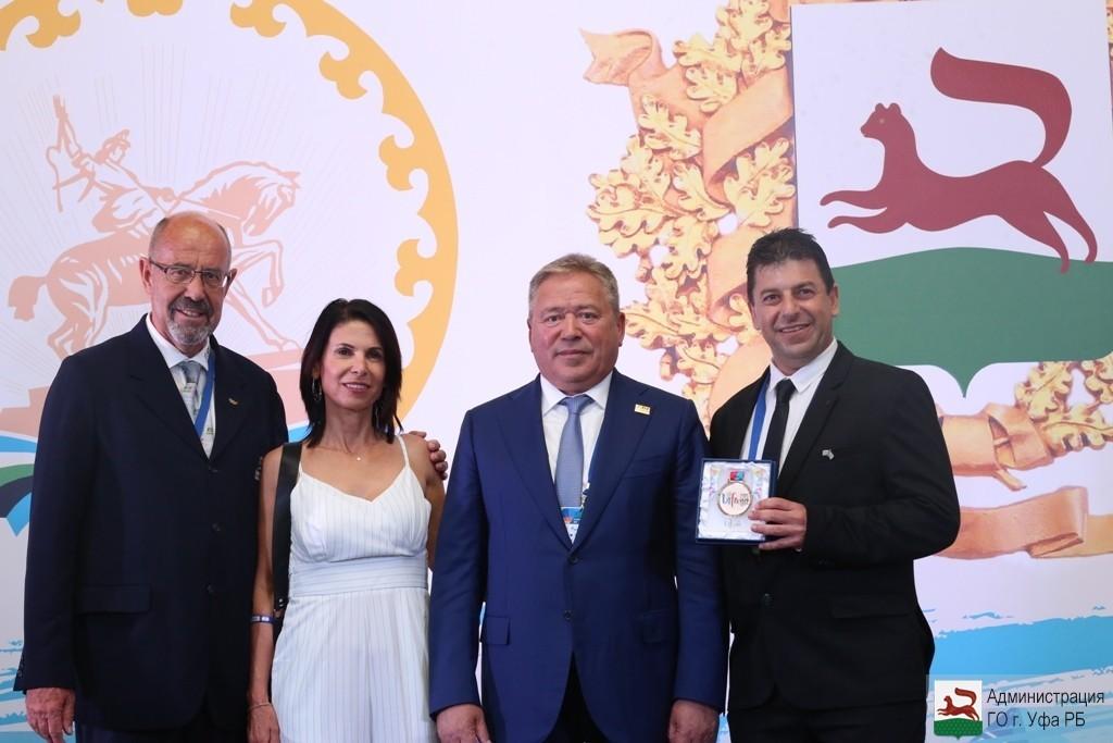 В Уфе прошёл официальный приём главы Администрации города для гостей МДИ