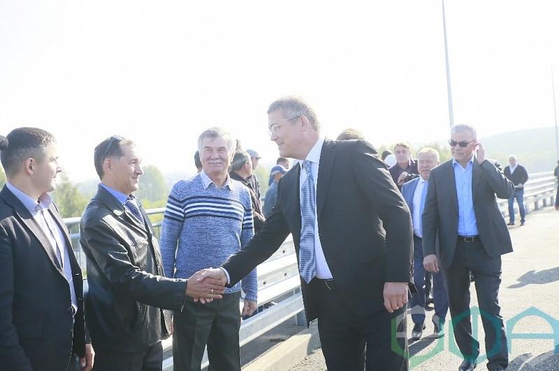 В Уфе открылось движение по новому Тимашевскому путепроводу