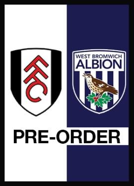 Pre-order Fulham v West Brom premier League programme