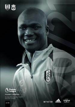 Fulham FC v Liverpool FC progreamme