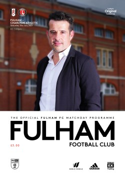 Fulham v Charlton Athletic, Official match-day pre-season programme, 2021/22
