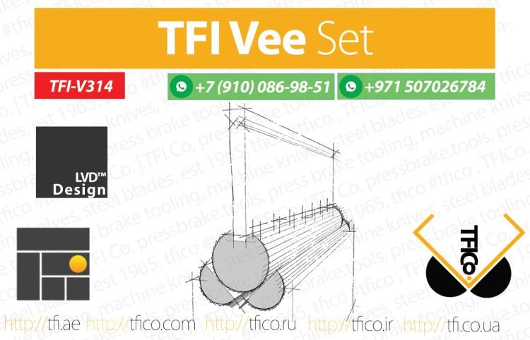 TFI, VEE set, pres brake ,tools , machinery , tooling, special tooling , uae, qatar, dubai , machine knives , tfico, company, dayyani,