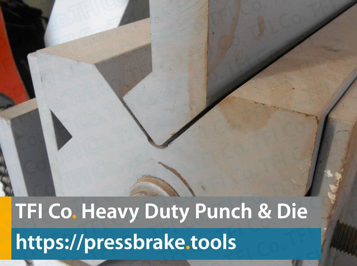 heavy duty press brake tools, tfi co , pres ,tools, tooling, punch, dies, tfico, uae, saudi, qatar, metal ,working, steel , fab, sharjah, dayyani,gooseneck, goose, tooling,