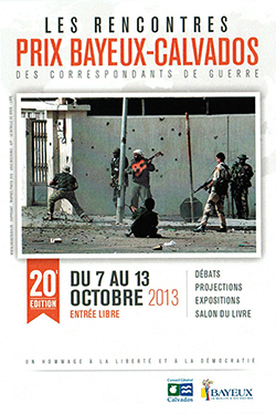 Le Prix Bayeux 2013