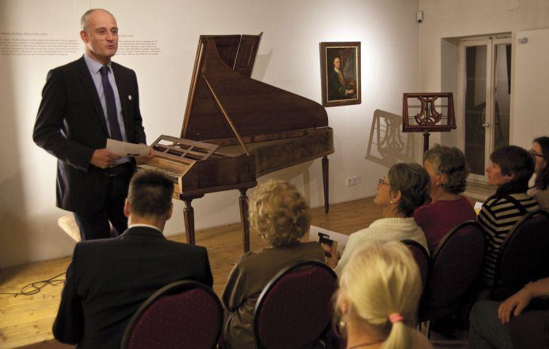 Augsburgs Kulturreferent Thomas Weitzel begrüßte zur Wiedereröffnung. | Foto: Martin Kluger