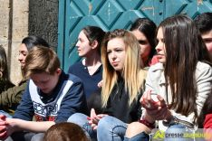 2017-03-17-Red-Hand-Day-–-24 Kinder sind keine Soldaten!   Schüler der Schillerschule und der Hans-Adlhoch-Schule setzen sich für Frieden ein Augsburg Stadt News Politik Hans-Adlhoch-Schule Red-Hand-Day Schillerschule Ulrike Bahr  Presse Augsburg