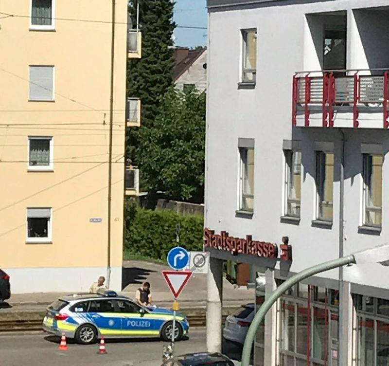 Augsburg-Lechhausen | Schwerer Unfall in der Blücherstraße ...