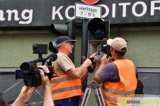 "2017-07-14-Kasperl-Ampel-–-15 ""Jetz kosch gea!"" | Augsburg hat nun eine Kasperl-Ampel Augsburg Stadt Bildergalerien Kunst & Kultur News Newsletter Ampel Augsburger Puppenkiste Kasperl |Presse Augsburg"