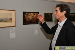 Mexiko-Kenner Dirk Bühler unterstütze die Stadt bei der Gestaltung der Ausstellung | Foto: Wolfgang Czech