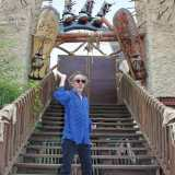 Tim Burton in Deep in Africa