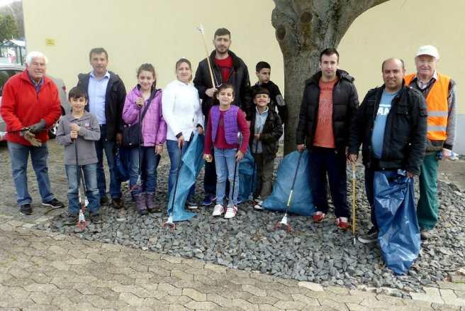 Umwelttag Vussem Gruppe