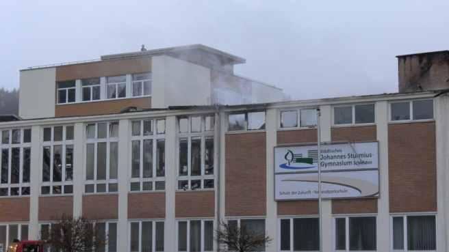 Brand in Schleiden Bild1