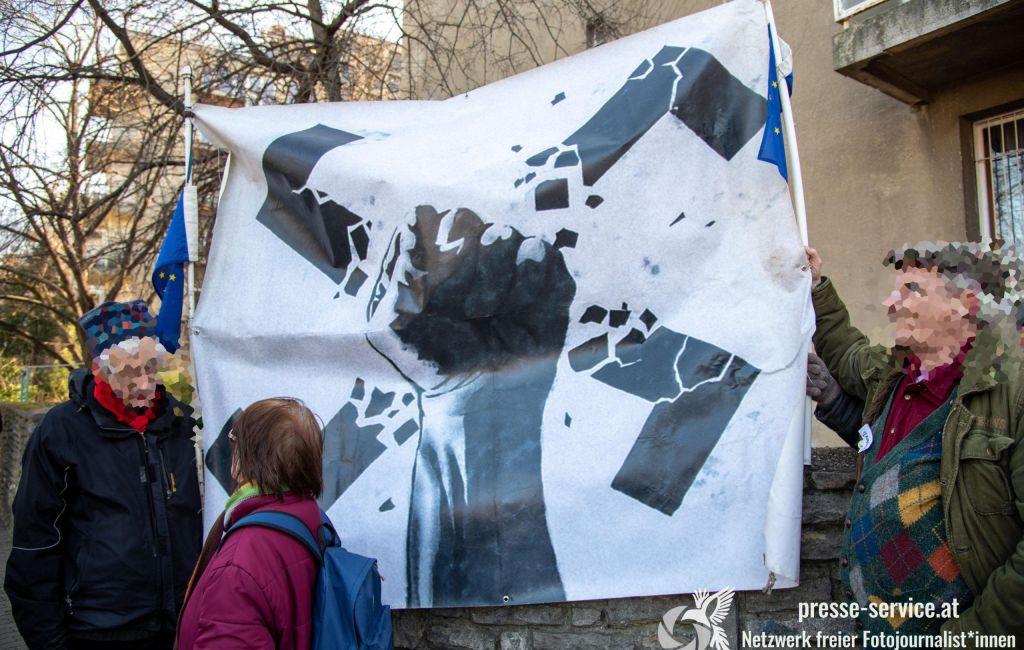 """Budapest: Antifaschistische Kundgebung gegen den """"Tag der Ehre"""""""