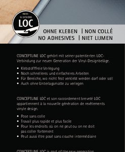 Neu: Karndean Conceptline Loc Vinyl-Designbelag