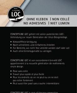 Karndean Conceptline Loc Vinyl-Designbelag Klicksystem