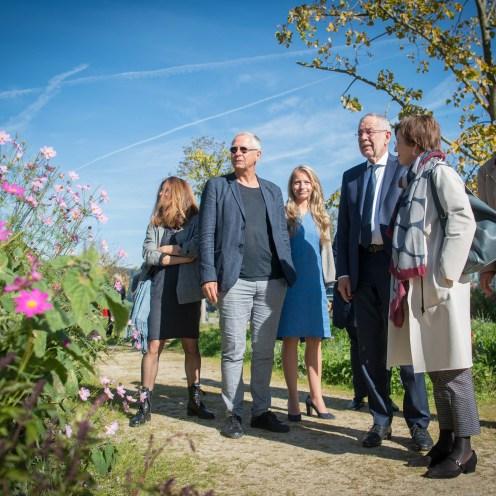 Bundespräsident Alexander Van der Bellen eröffnet die Grüne Erde-Welt