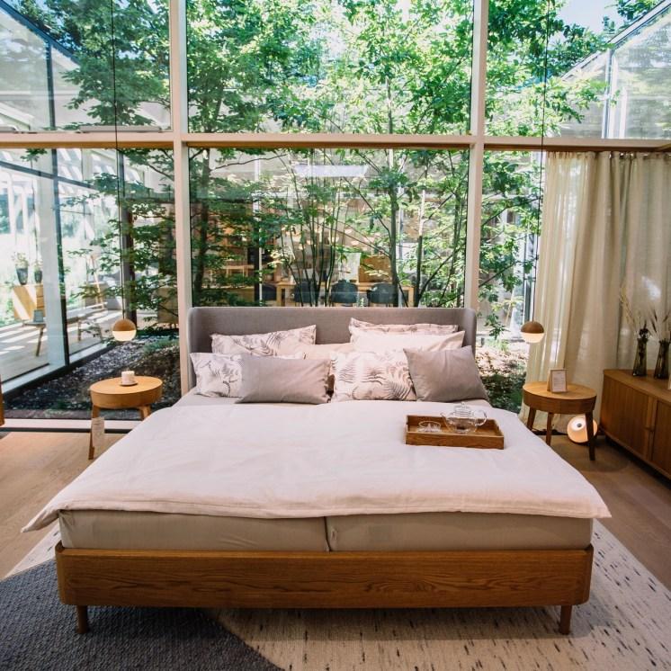Schlafen Sie gut – Möbelausstellung in der Grüne Erde-Welt