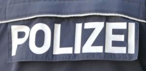 Polizei Jacke Abzeichen