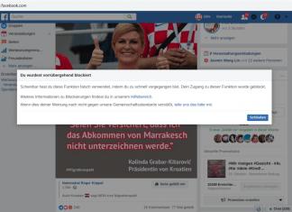 Facebook-Zensur