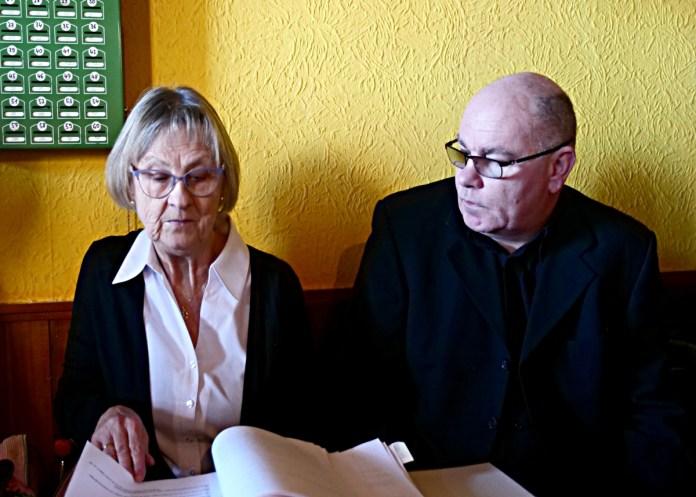 Gudrun Rödel und Thomas Henning