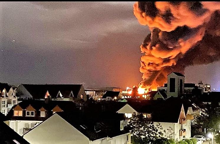 Großbrand Groß Gerau
