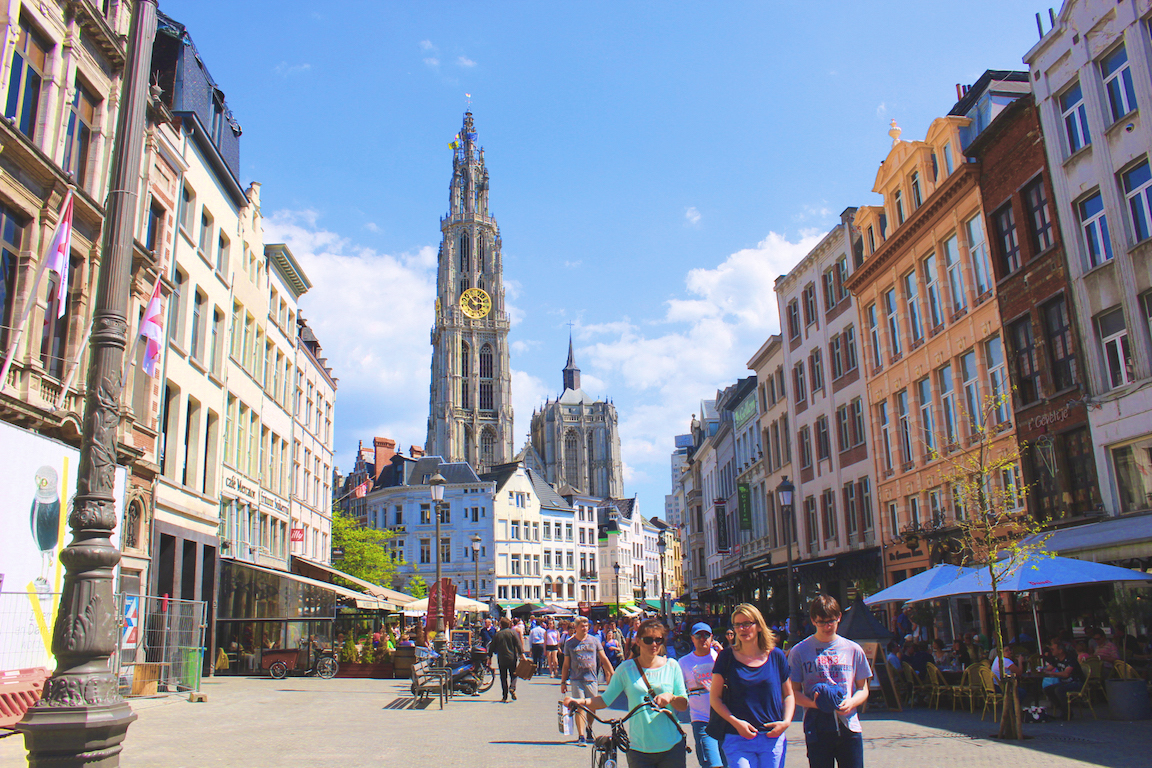 Road Trip to Antwerp, Belgium