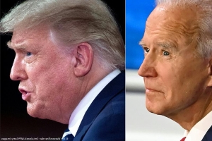 Trump and Biden ask voter questions