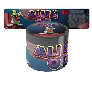 Alien OG Type 2 Jar Labels