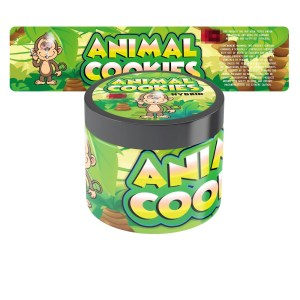 Animal Cookies Jars Label