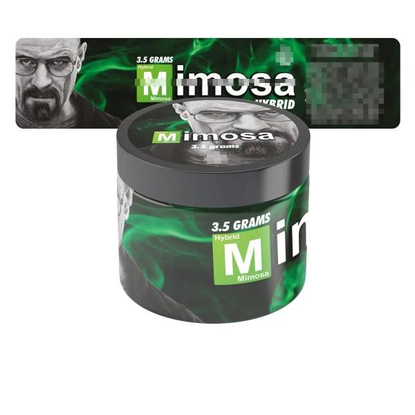 Mimosa Breaking Bad Jar Labels