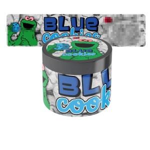 Blue Cookies Jar Labels