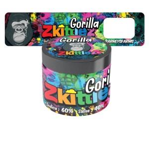 Gorilla Zkittles Jar Labels