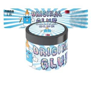 Original Glue Glass Jar Labels