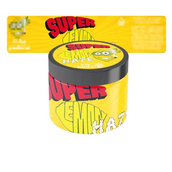 Super Lemon Haze Jar Labels