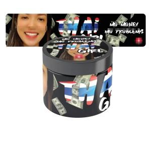 Thai Girl Jar Labels