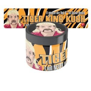 Tiger King Kush Jar Labels
