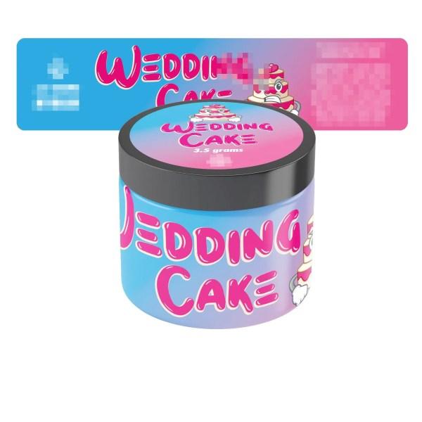 Wedding Cake Jar Labels