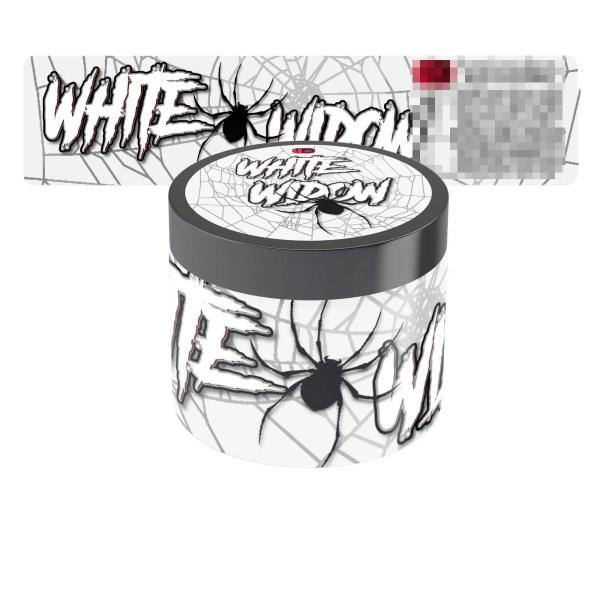 White Widow Jar Labels