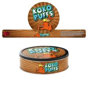 Koko Puffs Pressitin Labels