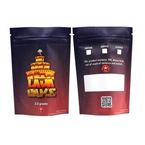 Lava Cake Type 2 Printed Mylar Bags