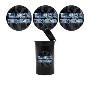 Black Diamond Slap Stickers
